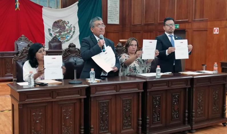 Abandonan el Partido Encuentro Social cuatro diputados mexiquenses