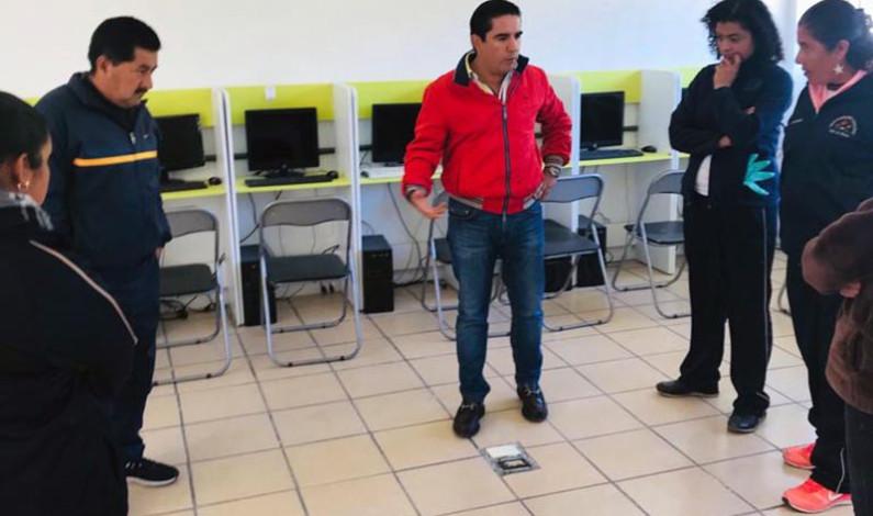Transforma Muñoz Burgos las condiciones educativas en Valle de Bravo