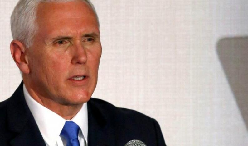"Mike Pence ""pide a México"" reconocer a Juan Guaidó"