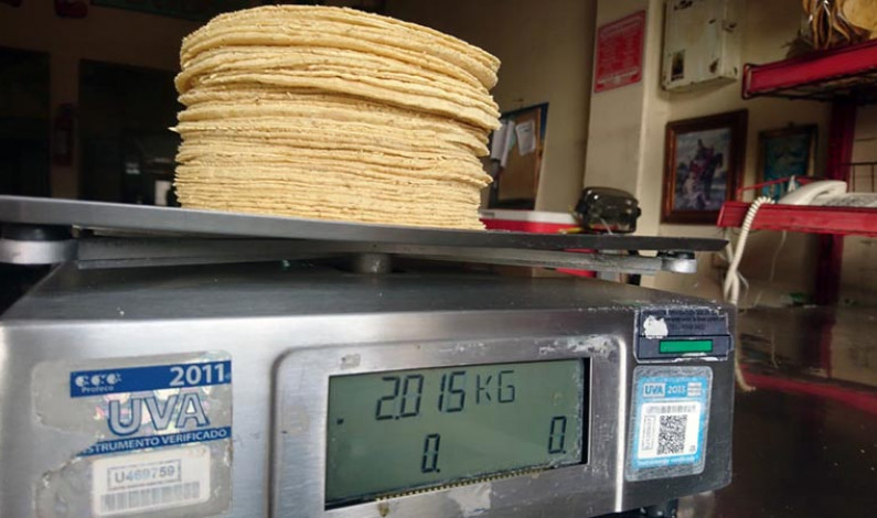Aumentará precio de tortillas de 2 a 4 pesos en marzo