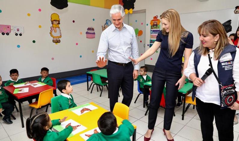 De pie las escuelas mexiquenses