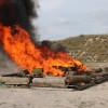 Fiscalía General de la República incinera más de 900 kilos de droga