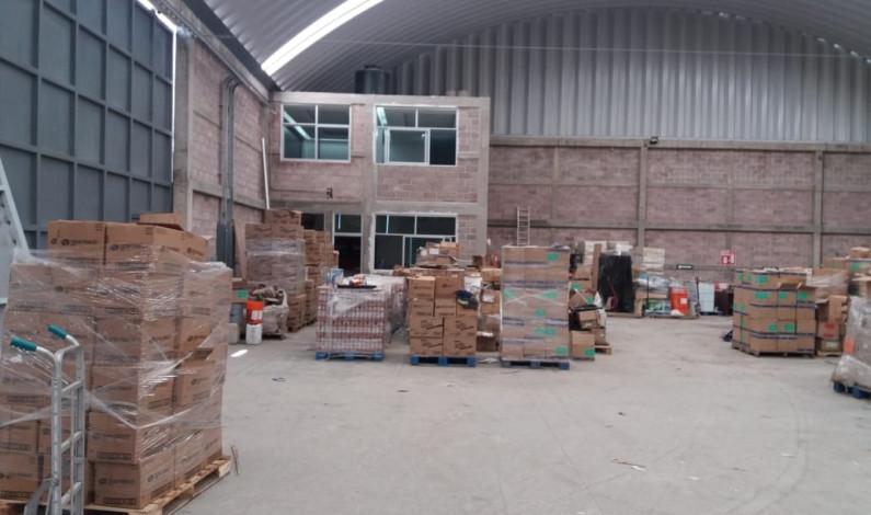 Asegura FGR droga en empresa de paquetería en Toluca