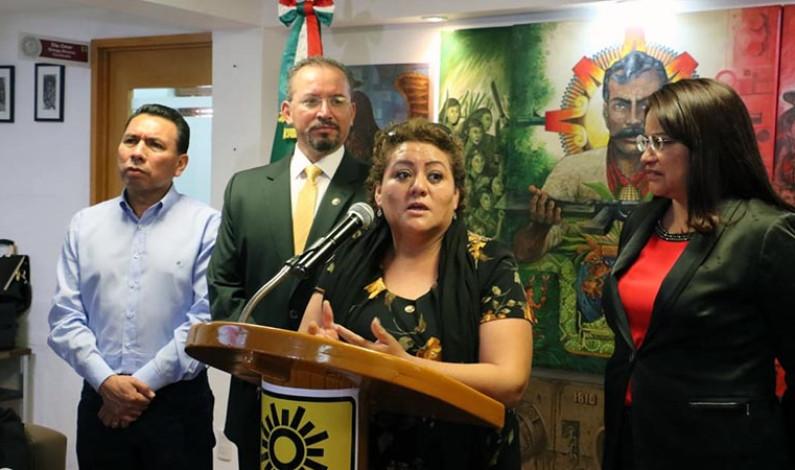 Presenta PRD agenda legslativa a favor de las minorías