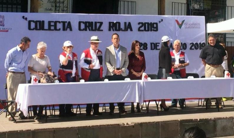Arranca Mauricio Osorio la Colecta Anual 2019 de la Cruz Roja en Valle de Bravo
