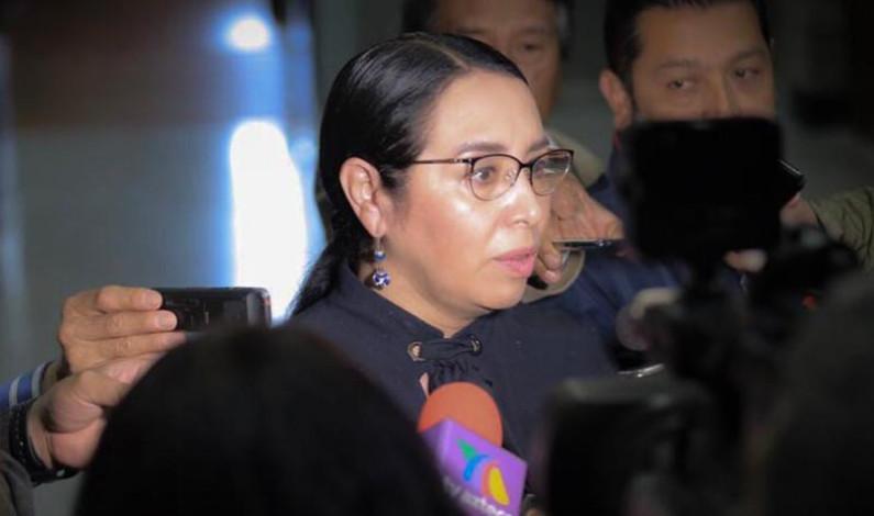 Teme Azucena Cisneros que hay compra de voluntades en la Legislatura