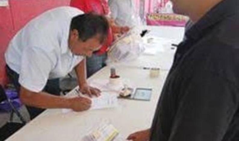 Piso parejo y fuera mano negra de elección de autoridades auxiliares en Naucalpan