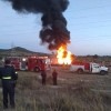 Se incendia toma clandestina en ducto de PEMEX en Texcoco