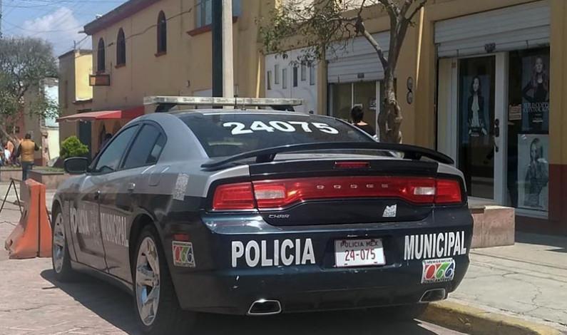 Fortalecer Zinacantepec su capacidad policíaca y parque vehicular