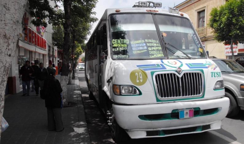 Sin justificación el aumento de 2 pesos al pasaje de transporte público