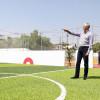 Entrega Del Mazo obras deportivas y culturales en Tlalnepantla