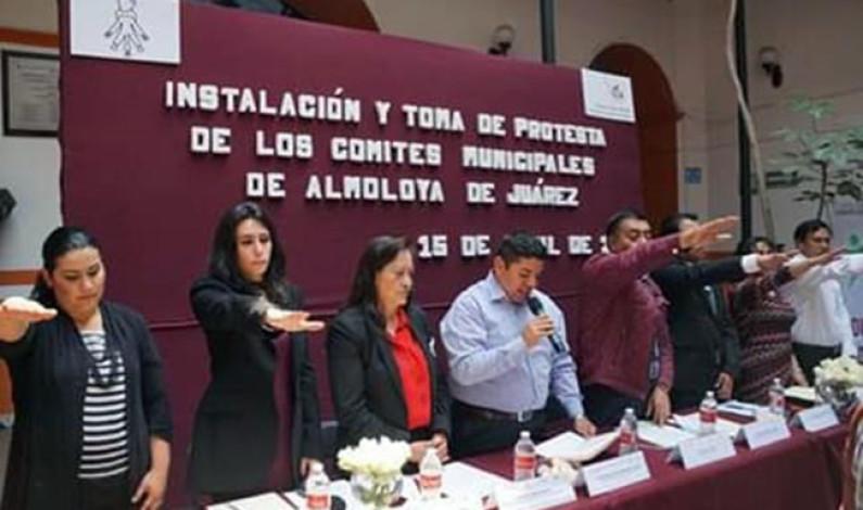 Instala Almoloya de Juárez comités contra riesgos sanitarios y adicciones