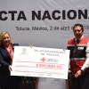 Apoyo sin precedente para Cruz Roja Mexicana en Toluca: Sánchez Gómez