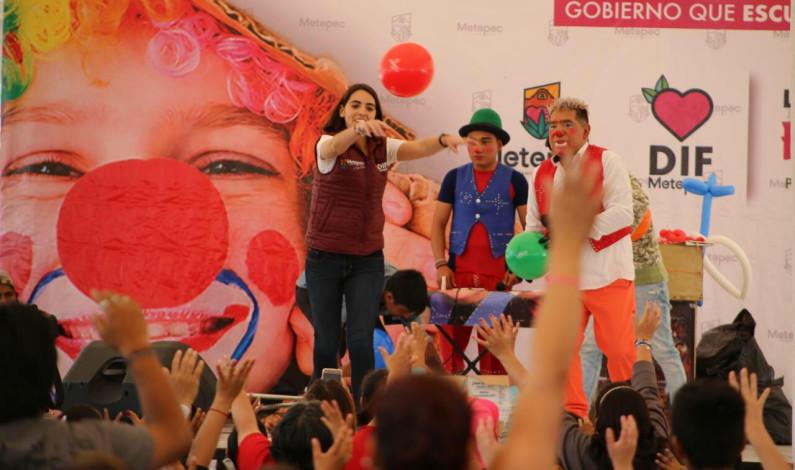 Celebró Metepec a lo grande el Día del Niño