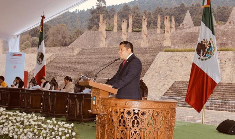 Concluye periodo ordinario de sesiones la LX Legislatura, en Temoaya