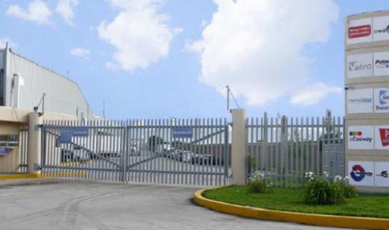 Industriales y ayuntamiento de Toluca mejoran seguridad en parque Exportec