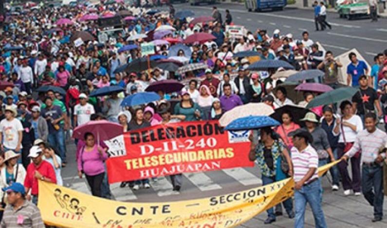 Revela CNTE calendario de movilizaciones en el país