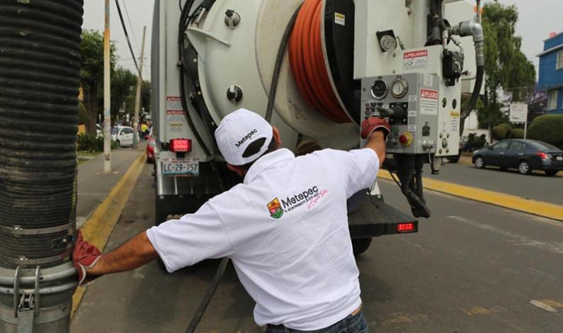 Se prepara Metepec para evitar inundaciones