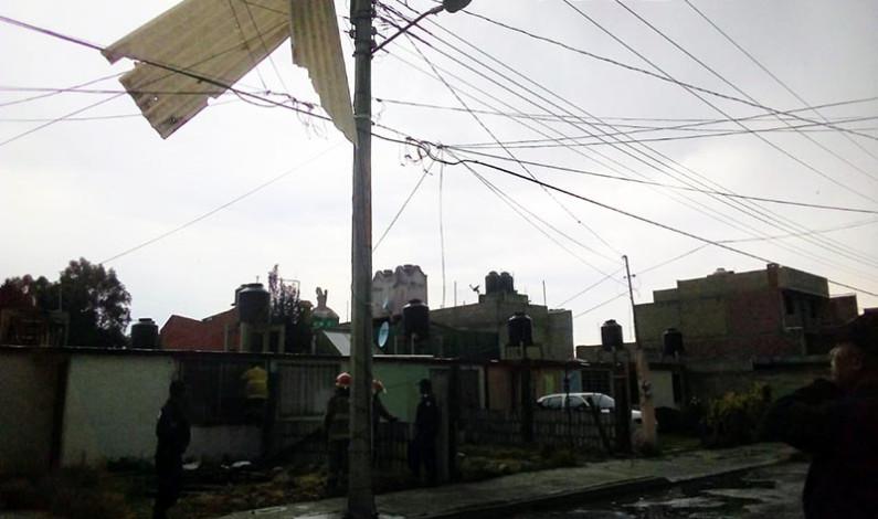 Azota tornado a Almoloya de Juárez