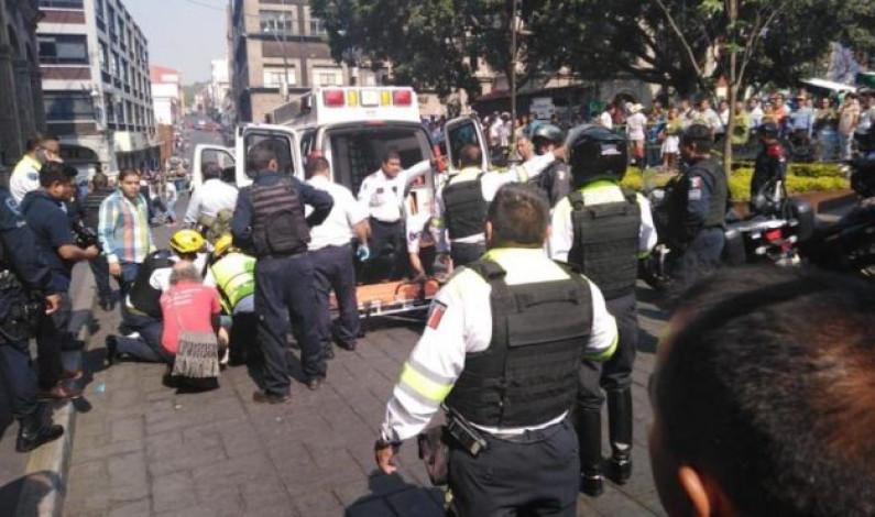 Asesinan a empresario en pleno centro de Cuernavaca; un reportero resulta herido