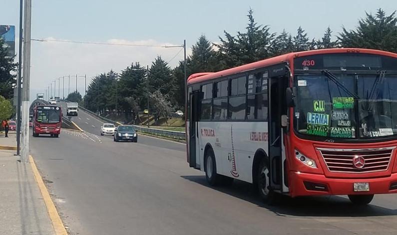 Necios y agresivos los operadores de transporte público