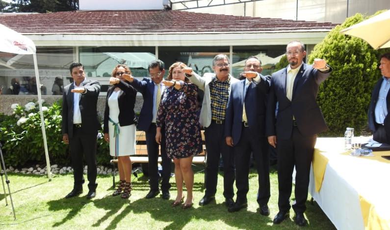 Instalan nueva dirigencia del PRD en la entidad