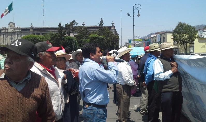 Exigen mesa de diálogo habitantes de San Francisco Tlalcilalcalpan