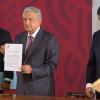 Firma López Obrador decreto que elimina condonaciones de impuestos