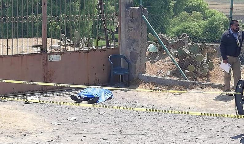 Balacera en Almoloya de Juárez deja un muerto y un herido
