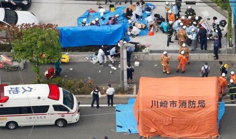 Mueren un menor y dos adultos apuñalados por un sujeto en Japón; hay varios heridos