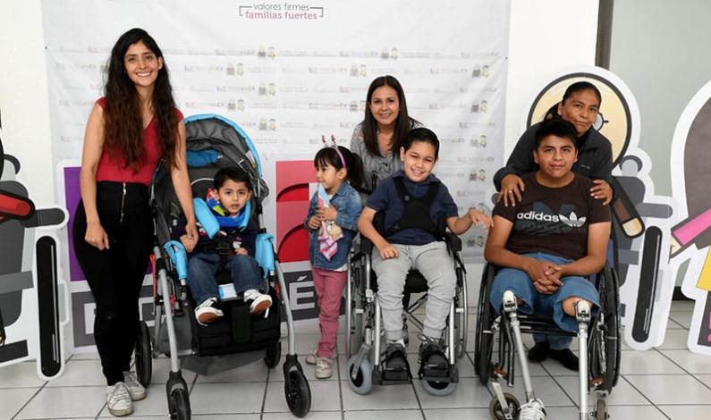 Apoya DIFEM a más de 400 personas con discapacidad al año