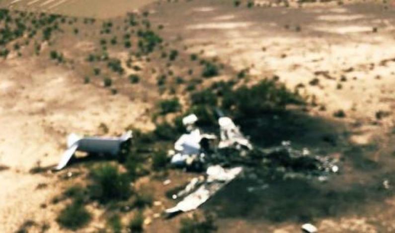 Localizan restos del avión desaparecido en Coahuila; el piloto era mexiquense