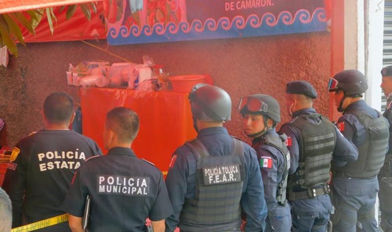 Apuñalan a joven en mercado de San Buenaventura, Toluca