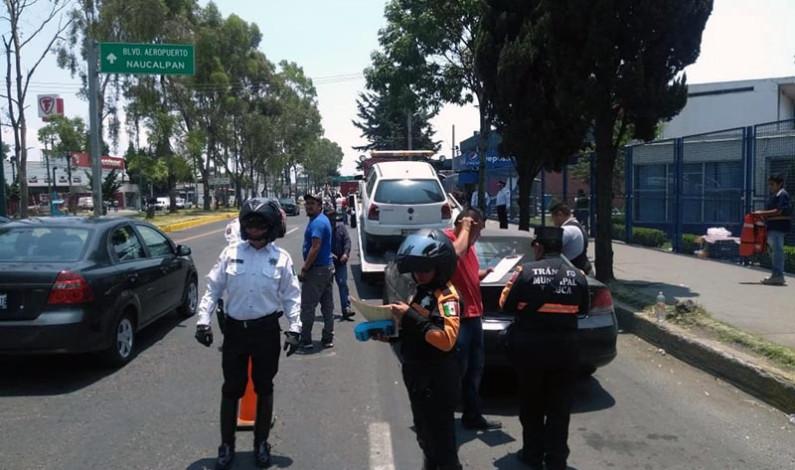 Dicen no estar enterados de que la verificación vehicular es obligatoria en Toluca