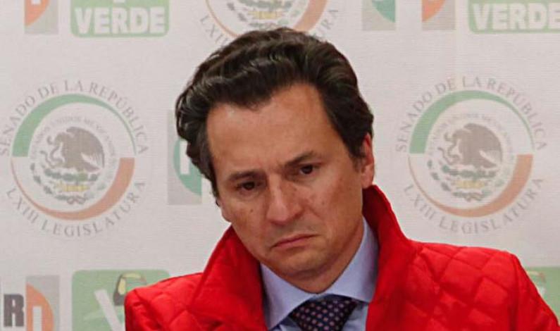 Retiran suspensión a Emilio Lozoya; podrá ser detenido por lavado de dinero
