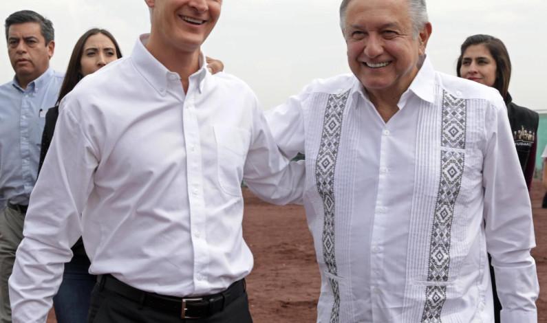 Trabajo conjunto Edomex-Gobierno de México