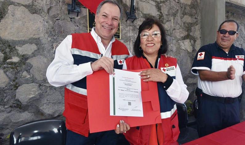 Formará Cruz Roja Técnicos en Urgencias Médicas en Nicolás Romero