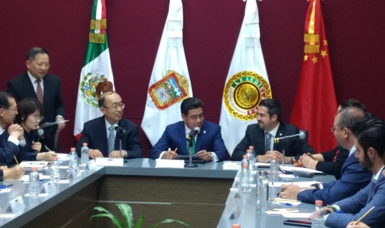 Estrecha relaciones Legislatura mexiquense con Shandong, China