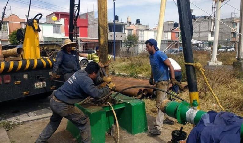 Hereda Cuautitlán redes hidráulicas destruidas por falta de mantenimiento