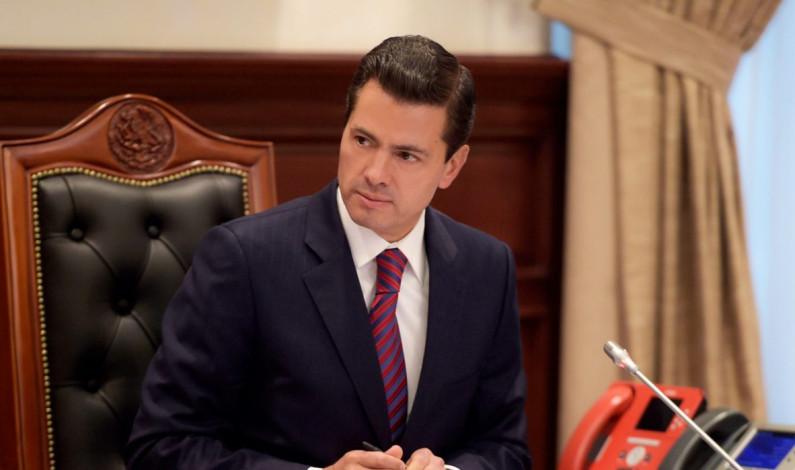 """Rechaza EPN imputaciones en su contra; dice: """"mienten"""""""