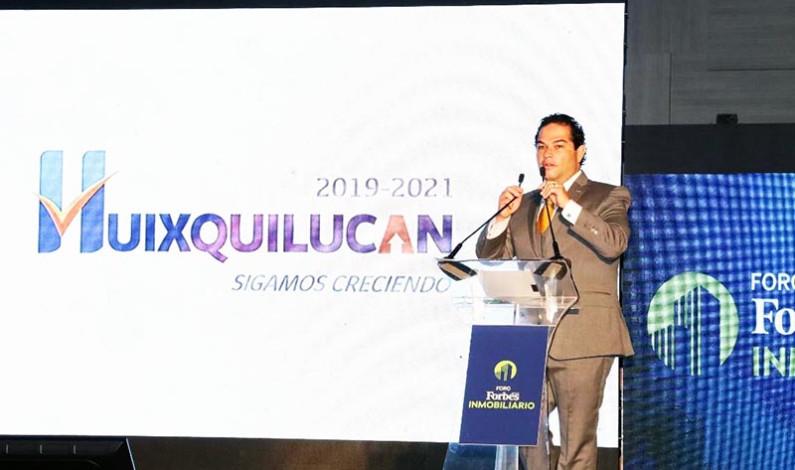 Llegarán inversiones por 500 millones de dólares a Huixquilucan