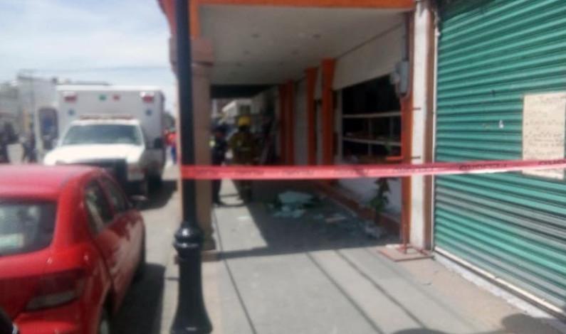 Explosión por tanque de gas en panadería de Otzolotepec