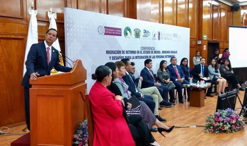 Propone Jorge Olvera marco legal para migrantes mexiquenses que retornan