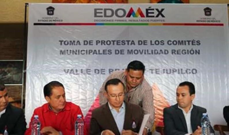 Instalan comités municipales de Movilidad en Valle de Bravo