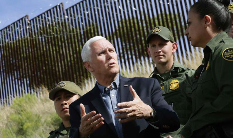 Logró Trump que México actuara: Mike Pence