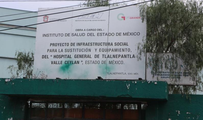 Exigen diputados de Morena cuentas claras sobre hospital sin concluir en Tlalnepantla