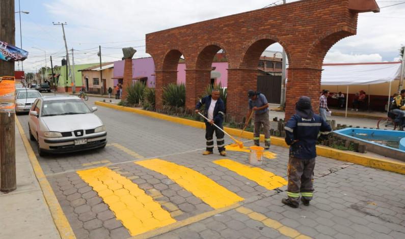 Rehabilita Metepec el pueblo de San Miguel Totocuitlapilco