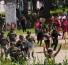 Contienen a migrantes africanos que pretendían huir de albergue en Chiapas