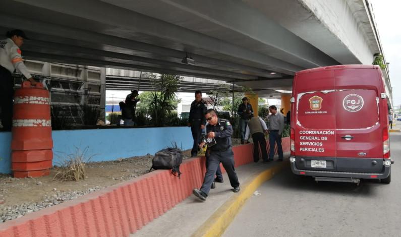 """Localizan """"encobijado"""" bajo puente de Paseo Tollocan"""