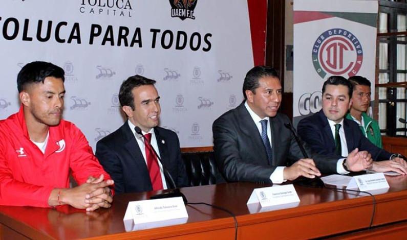 Toluca vs Potros FC en los festejos de los 500 años de la capital mexiquense